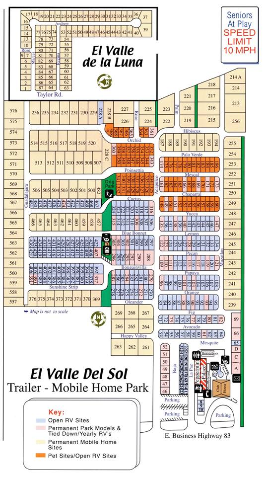 El Valle del Sol Community Site Plan